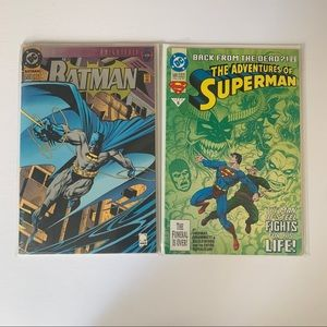 Batman and Superman 500